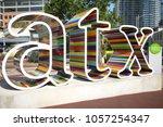 austin  texas usa   september 9 ... | Shutterstock . vector #1057254347