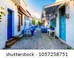 bozcaada  turkey   october 21 ...   Shutterstock . vector #1057258751