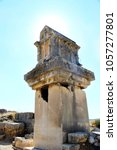 Small photo of Ancient Lycian capital Xanthos in Patara, Antalya, Turkey