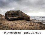 grand pointe casemate in olonne ... | Shutterstock . vector #1057287539
