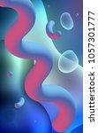 light blue vertical background... | Shutterstock . vector #1057301777