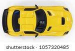 mercedes benz sls yellow. three ...   Shutterstock . vector #1057320485