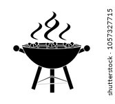 grill flat icon | Shutterstock .eps vector #1057327715