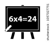 teaching board icon    Shutterstock .eps vector #1057327751