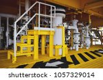 pipeline production and control ... | Shutterstock . vector #1057329014