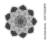 mandalas for coloring book.... | Shutterstock .eps vector #1057332899