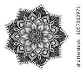 mandalas for coloring book.... | Shutterstock .eps vector #1057332971