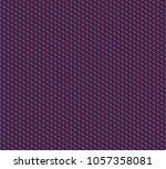 isometric grid. vector seamless ... | Shutterstock .eps vector #1057358081