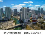 aerial image between miami and... | Shutterstock . vector #1057366484