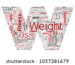 conceptual weight loss healthy... | Shutterstock . vector #1057381679
