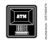 atm machine icon | Shutterstock .eps vector #1057400474