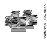 dollar cash coins icon | Shutterstock .eps vector #1057400477