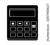 vector calculator icon | Shutterstock .eps vector #1057400627