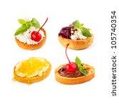 sweet sandwiches | Shutterstock . vector #105740354