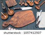 wooden kitchen cutting board ...