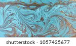 marble abstract acrylic... | Shutterstock . vector #1057425677