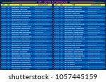 llustration of ipl cricket...   Shutterstock .eps vector #1057445159