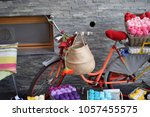 bike and miscellaneous for sale ... | Shutterstock . vector #1057455575