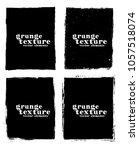 grunge frame texture set  ... | Shutterstock .eps vector #1057518074