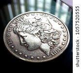 1882 Morgan Silver Dollar Coin.