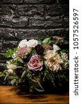 wedding set up. decoration for...   Shutterstock . vector #1057526597