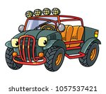 funny buggy car or outroader | Shutterstock .eps vector #1057537421