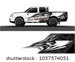 truck graphic kit. abstract ... | Shutterstock .eps vector #1057574051