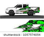 truck graphic kit. abstract ... | Shutterstock .eps vector #1057574054