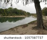 San Gabriel River At Blue Hole...