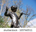 London   April 21  Statue Of...