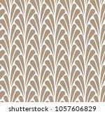 vector floral seamless pattern. ... | Shutterstock .eps vector #1057606829