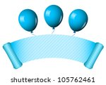 vector illustration of blue... | Shutterstock .eps vector #105762461