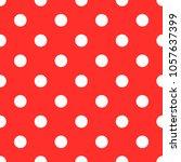 polka dot seamless pattern...   Shutterstock .eps vector #1057637399