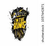 i'm the king  illustration of...   Shutterstock .eps vector #1057642871