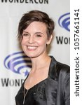 "maggie grace attends ""fear the... 