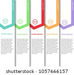 arrow design elements for... | Shutterstock .eps vector #1057666157