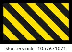 flat design with yellow and... | Shutterstock .eps vector #1057671071