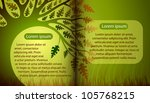 magic book with summer tree | Shutterstock .eps vector #105768215