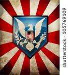 usa symbol background eps10 | Shutterstock .eps vector #105769109