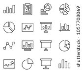 flat vector icon set  ...