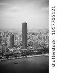 shanghai  china  27 september... | Shutterstock . vector #1057705121