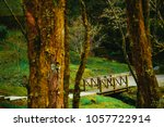 a beautiful walking trail along ... | Shutterstock . vector #1057722914