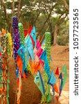 thailand summer songkran...   Shutterstock . vector #1057723565