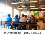 abstract blur or defocus... | Shutterstock . vector #1057735121