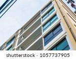 condominium window close up... | Shutterstock . vector #1057737905
