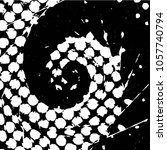 abstract grunge grid stripe... | Shutterstock .eps vector #1057740794