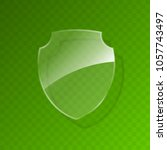 protected guard shield concept. ... | Shutterstock .eps vector #1057743497