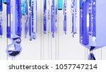 chandelier  3d render | Shutterstock . vector #1057747214