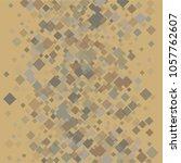 rhombus vintage minimal... | Shutterstock .eps vector #1057762607
