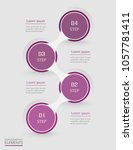 infographic design element for... | Shutterstock .eps vector #1057781411